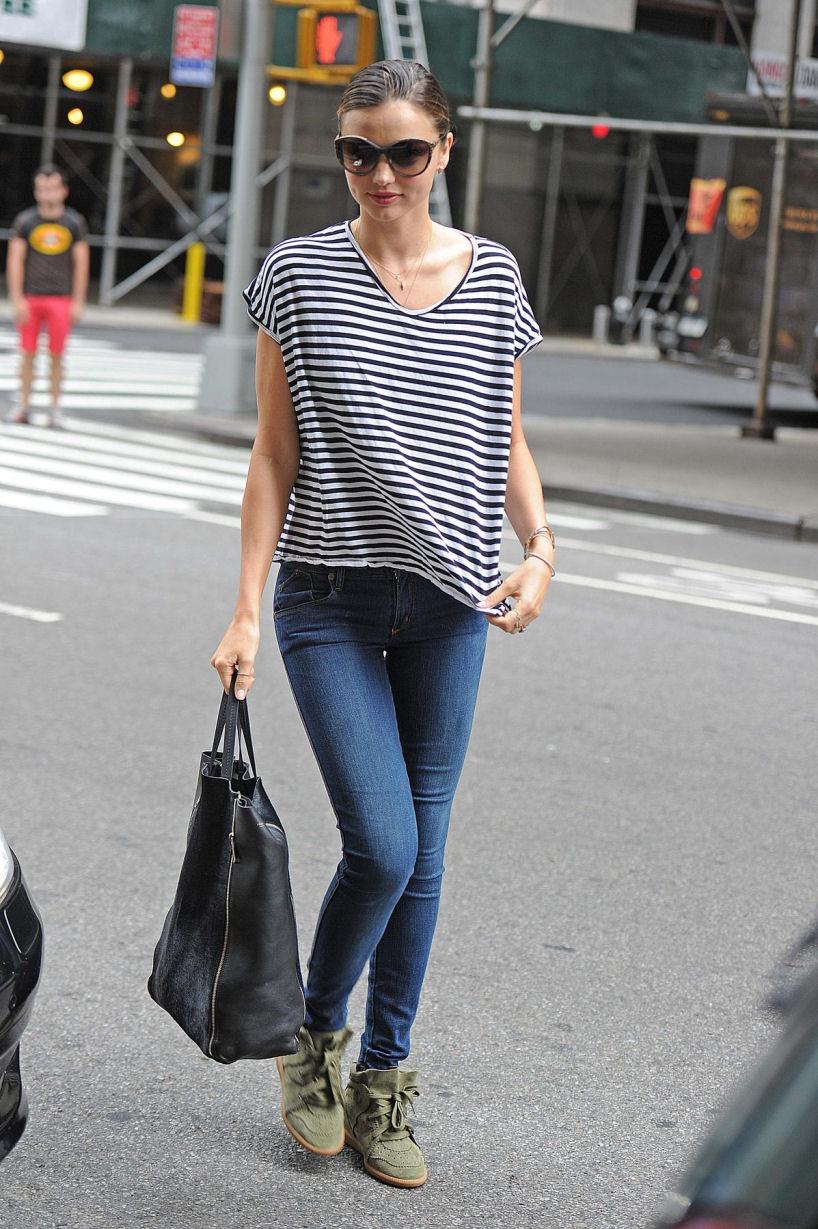 miranda stripe tee jeans