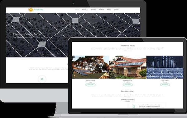 Solar Panels – Responsive Solar Energy Template