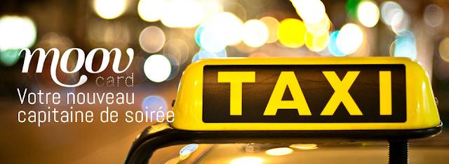 2 cartes de taxi prépayées
