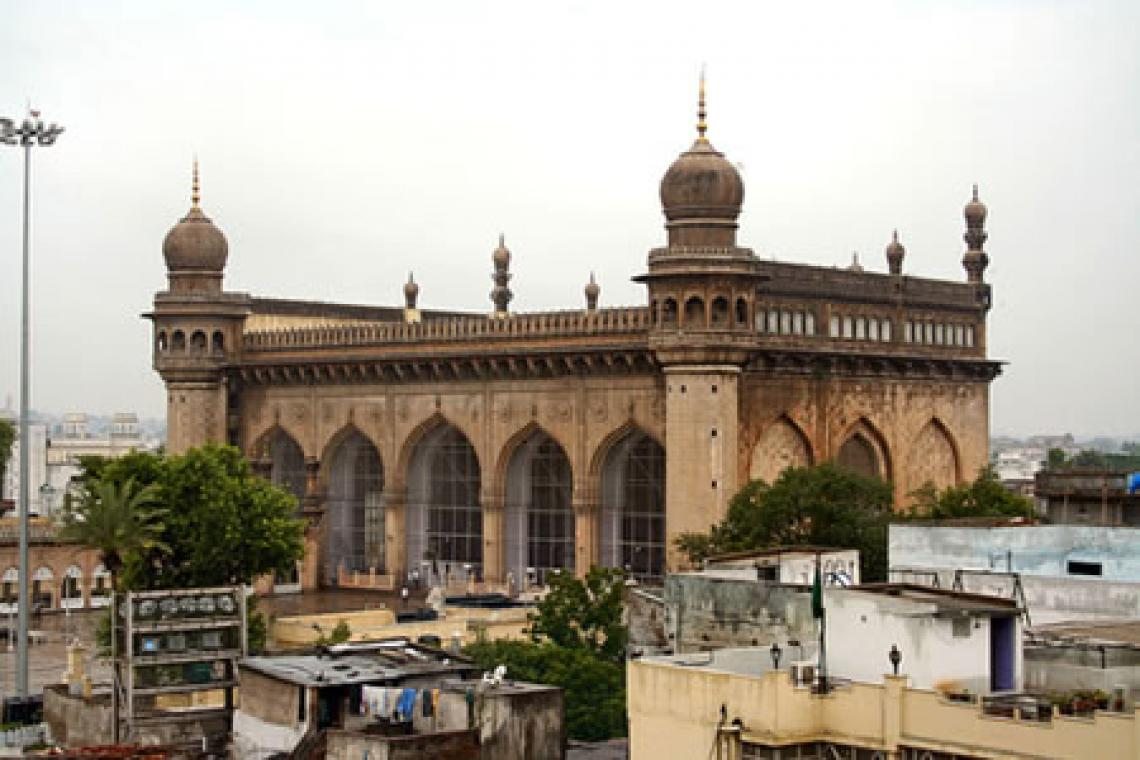 Hyderabad India  city photos gallery : Welcome to the Islamic Holly Places: Mecca Masjid Hyderabad India