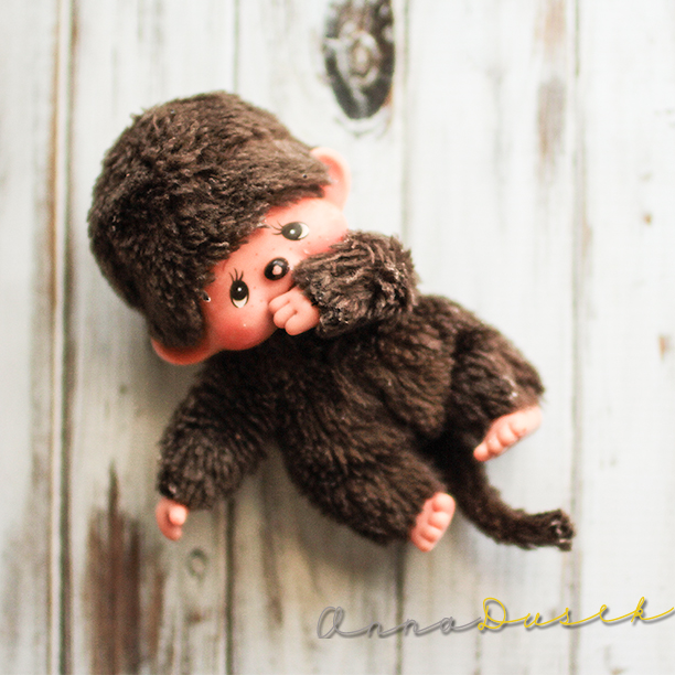 Monkey Thumb Sucking Doll