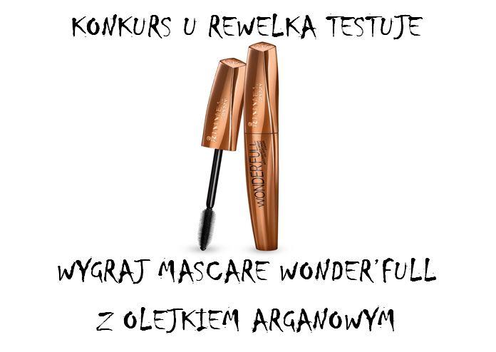 Konkurs - wygraj mascarę Rimmel Wonder'full ! :)