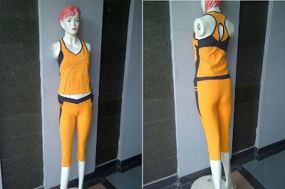 baju senam aerobik