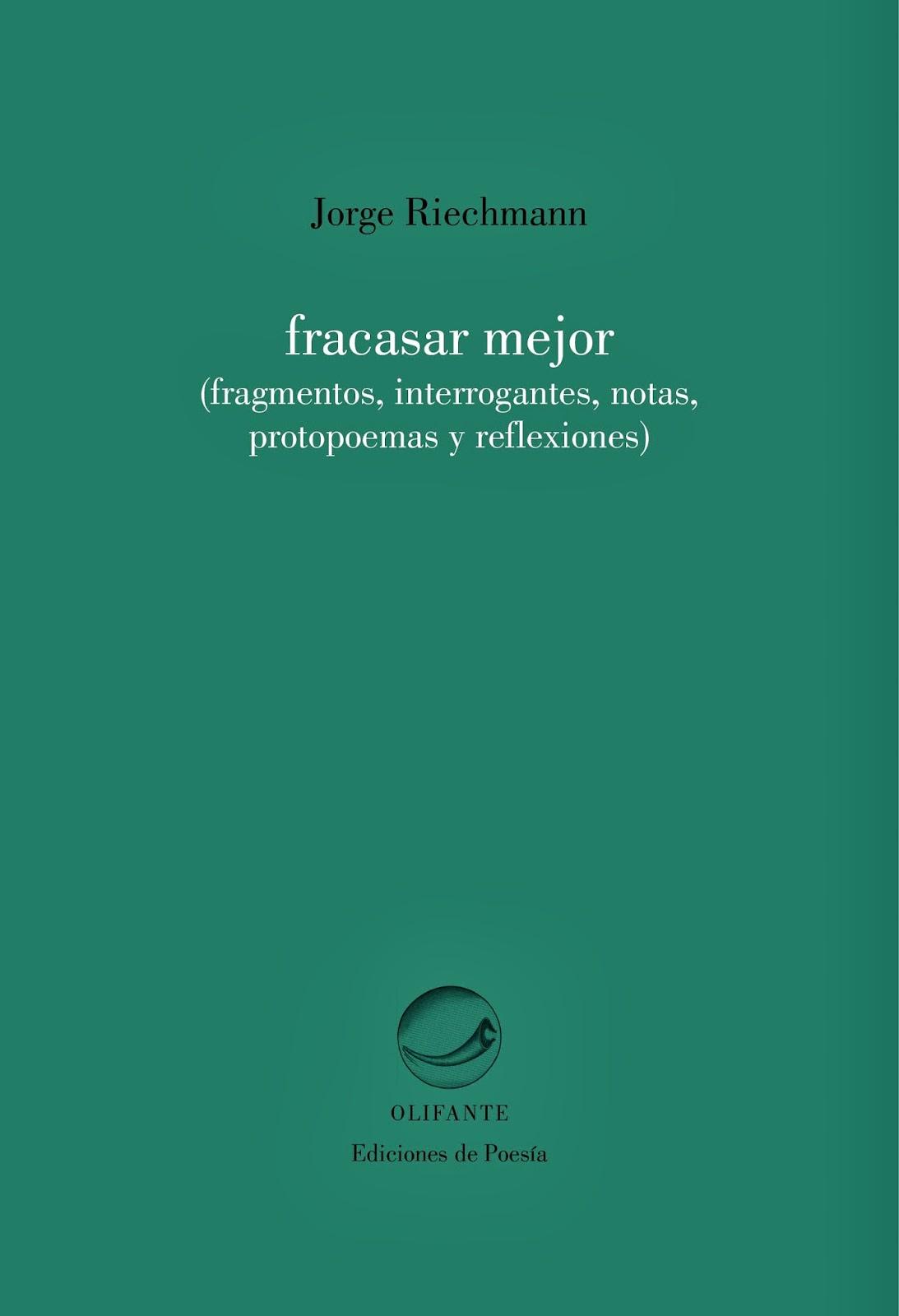 Jorge Riechmann, Máster en Literaturas Hispánicas, Universidad Autónoma de Madrid