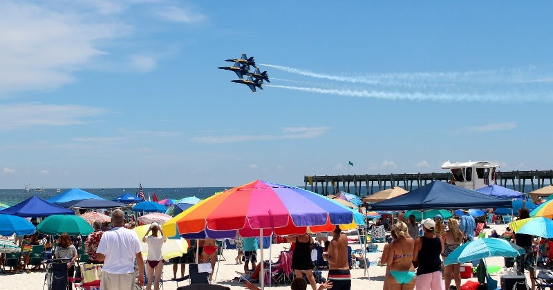Love To Live In Pensacola Florida Pensacola Beach Blue Angels Air Show 2012