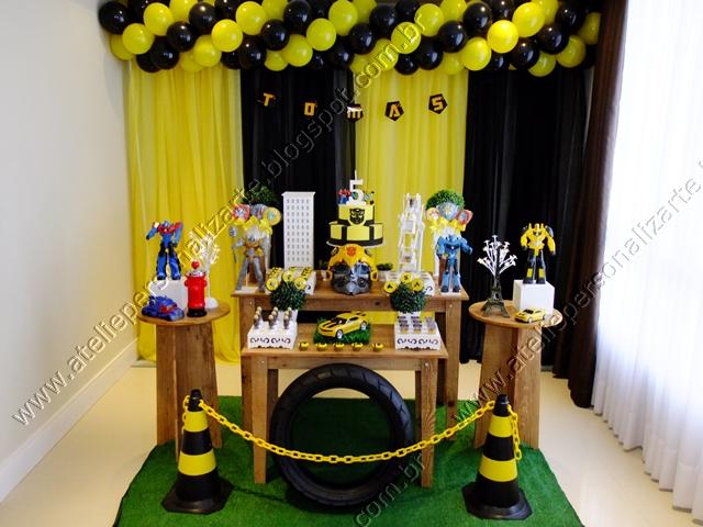 decoracao festa transformersDecoração de festas, lembrancinhas