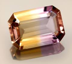 The Wonderful World Of Gemstones Ametrine The Bicolor