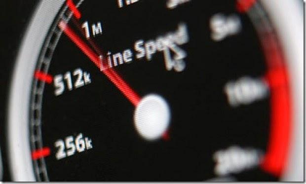 Data Kecepatan Internet Indonesia Bulan Agustus 2014