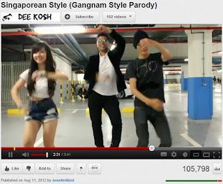 Gangnam Style Parody