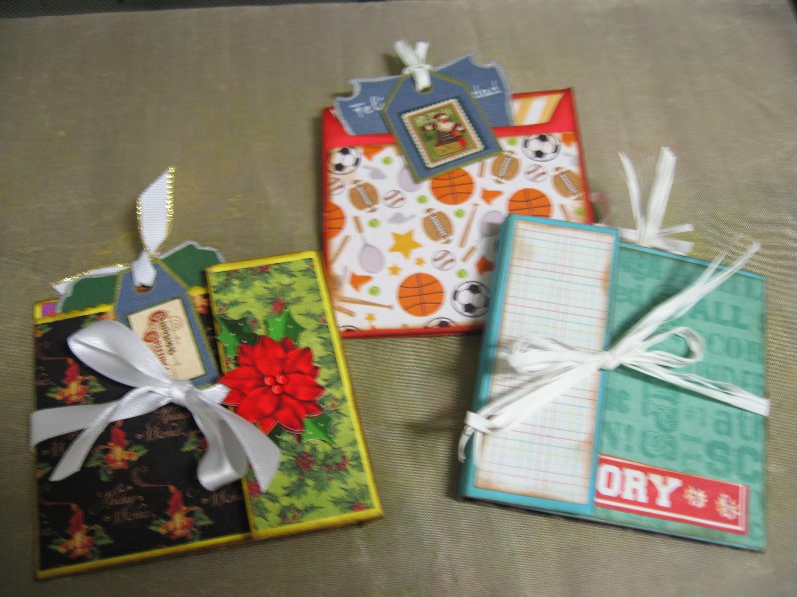 Scrapbooking detalles navidad para regalar for Detalles de navidad