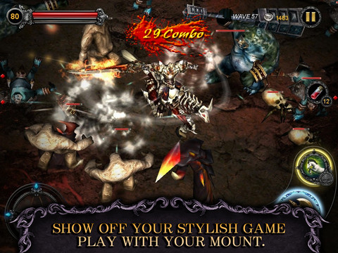 free Apocalypse Knights APK + SD DATA [Unlimited money]