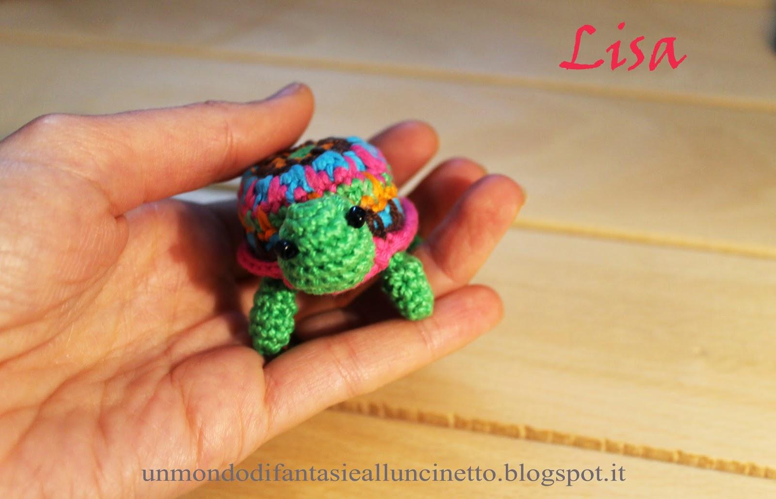 Amigurumi Tutorial Tartaruga : Un Mondo di Fantasie allUncinetto di Lisa : Tartaruga ...