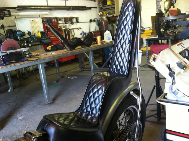 Dyna With Old School King Queen Seat Show Them Harley