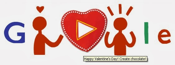 I love you - Valentine Google