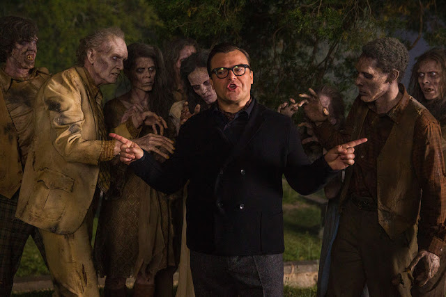 goosebumps movie still jack black zombies