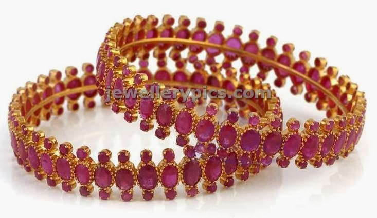 lalitha jewellers ruby bangles grand design