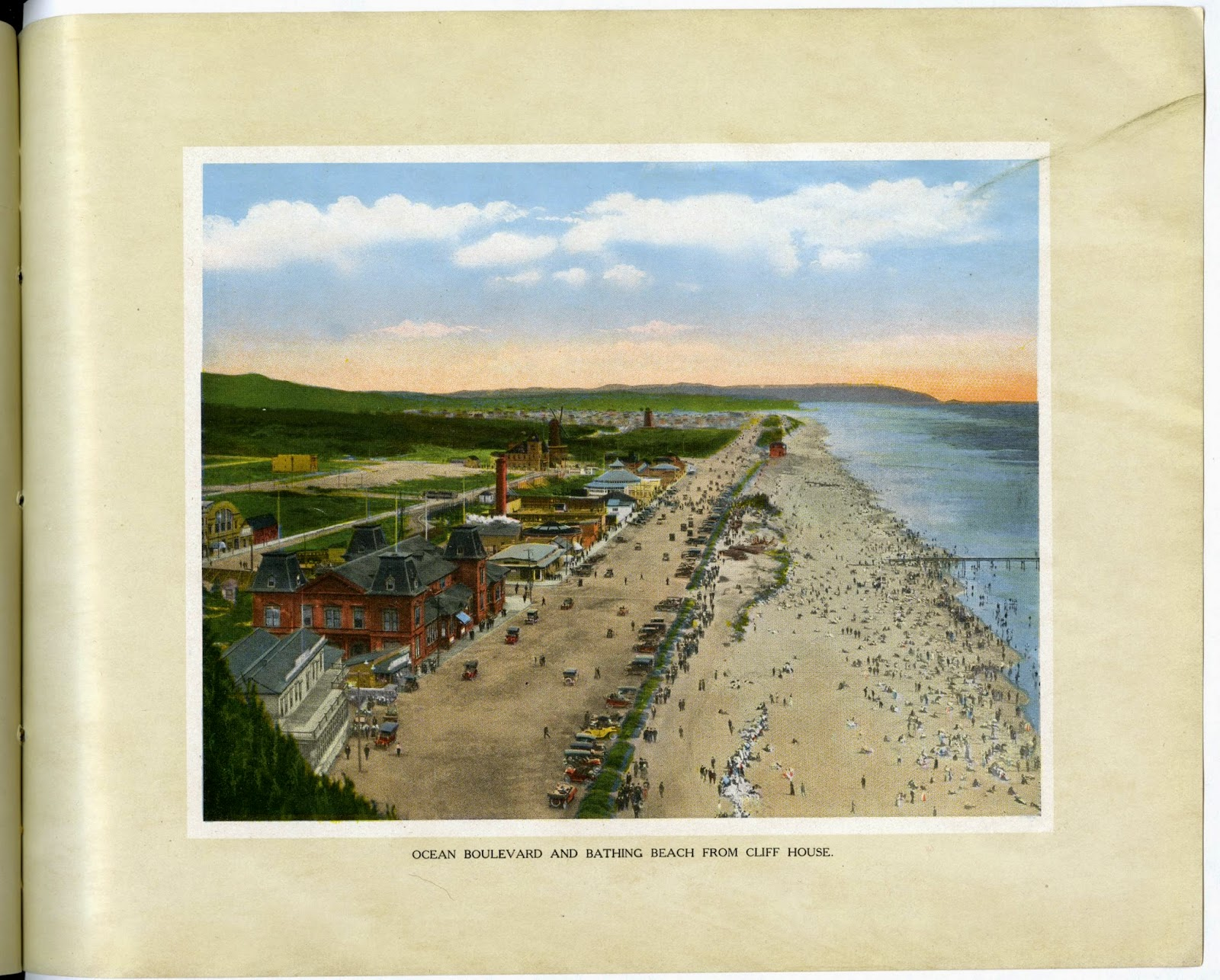 Ocean Boulevard and Bathing Beach from Cliff House