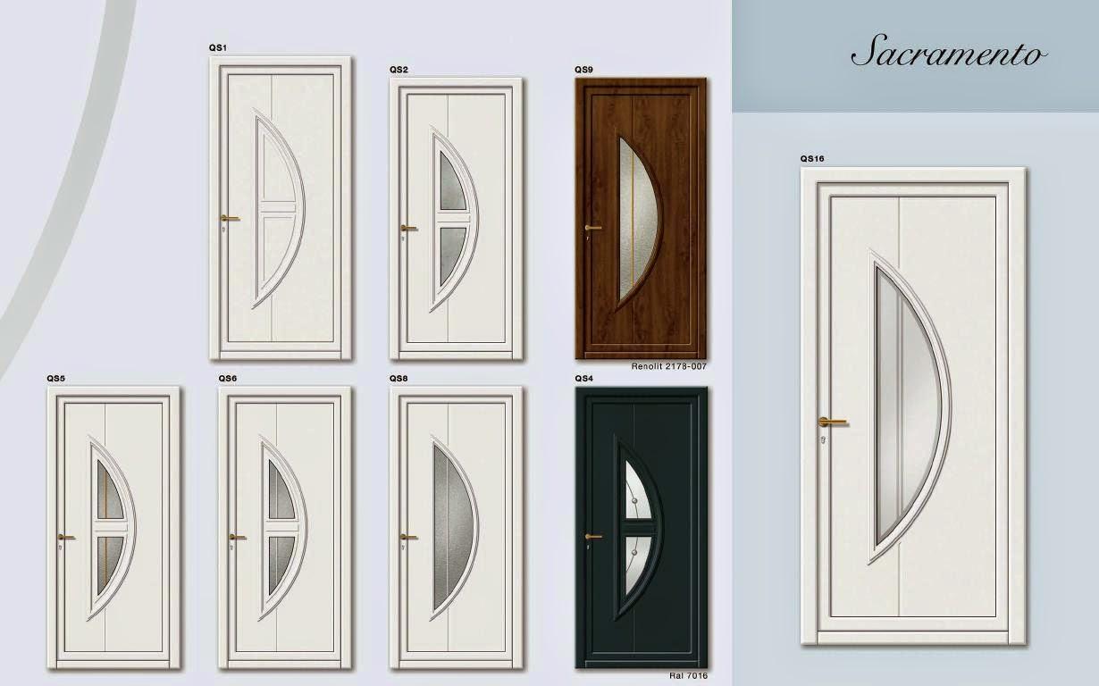 Aluminel portes d 39 entree catalogue classic Insonorisation porte d entree