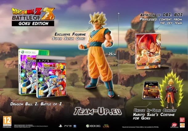 Vídeo promocional de la edición coleccionista de Dragon Ball Z: Battle of Z