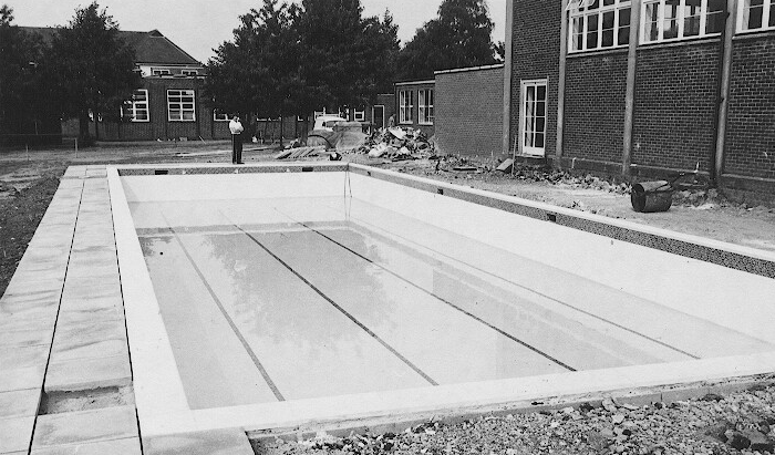 Fas Et Patria Swimming Pool Construction 1980