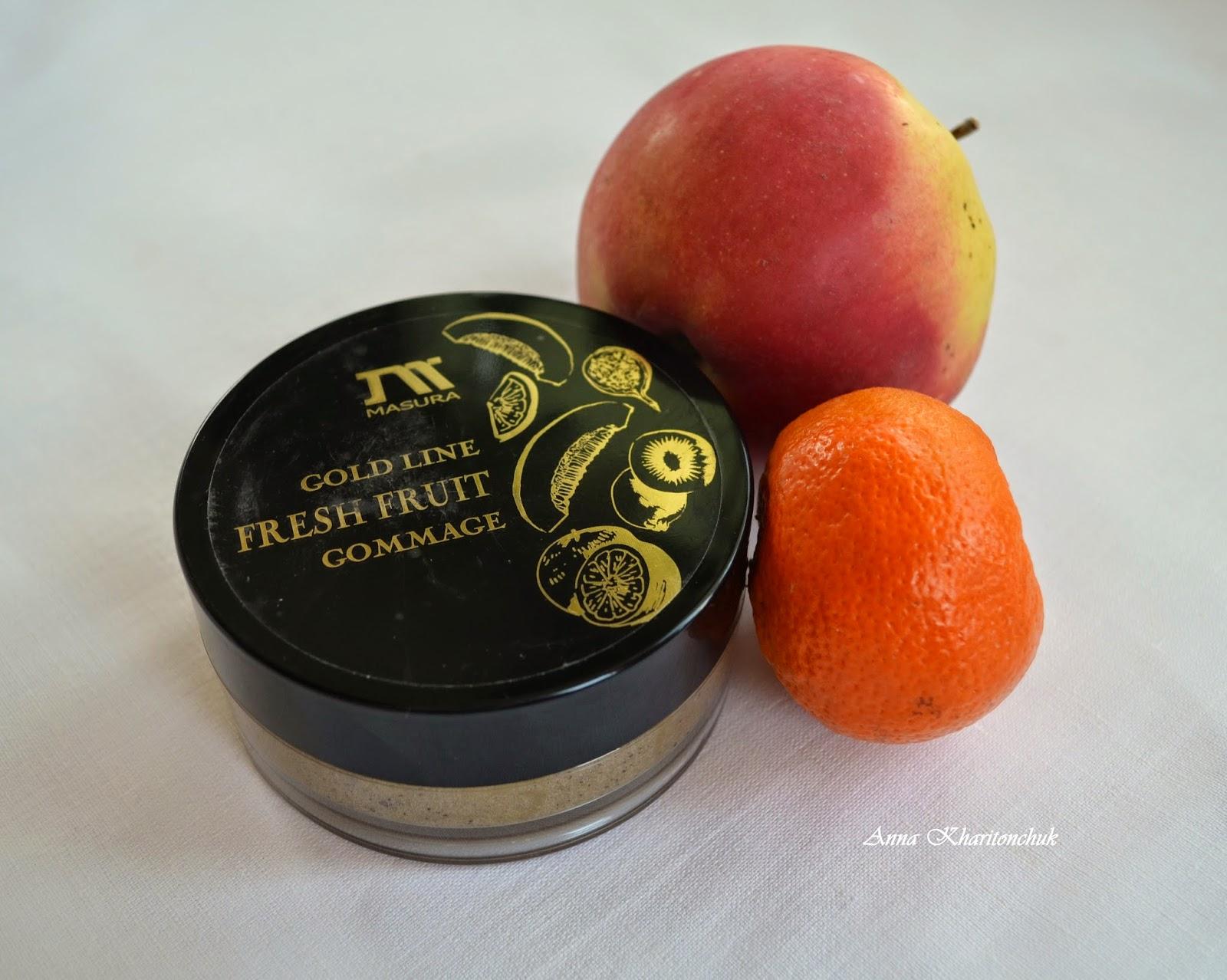 Спа-гоммаж с фруктовыми кислотами Masura Gold Line Fresh Fruit Gommage