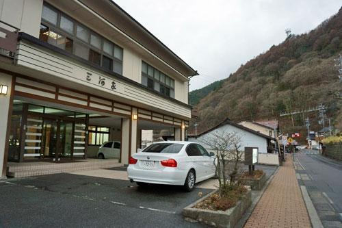 Kiso Mikawaya Hotel, Kiso Fukushima, Nagano.