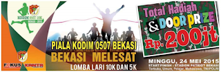 Lomba Lari Marathon KODIM 0507 10K & 5K