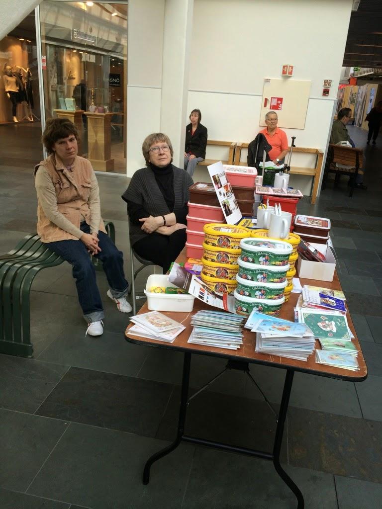 Stand på Oasen12/9 2014