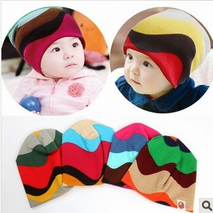 RAINBOW BABE KIDS HAT