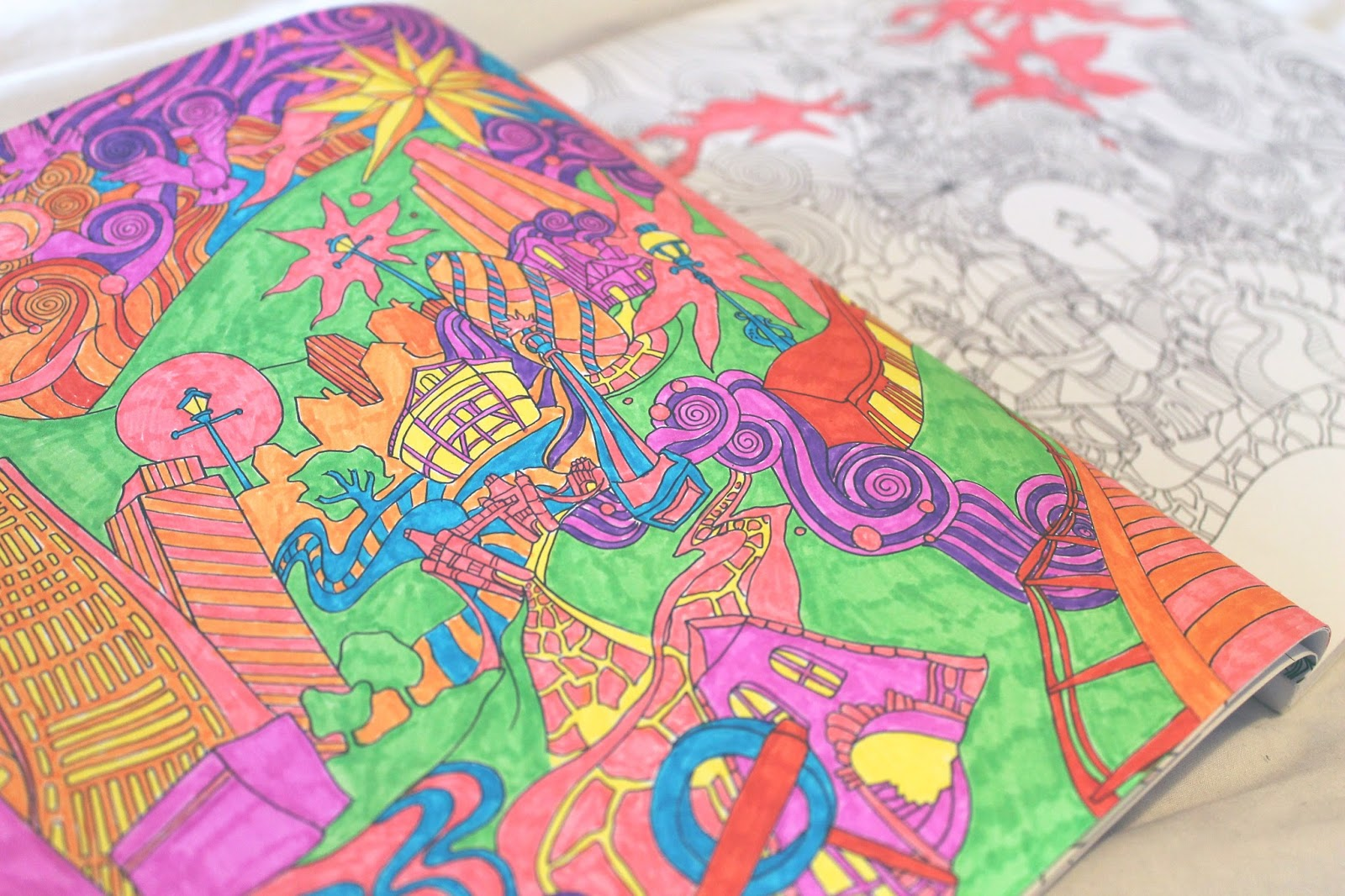 Th the magical city colouring in book - I M Sure Everyone Has Seen These Adult Colouring Books That Have Been Popping Up All Over The Place Lately And I Myself Have Been Looking Out For One