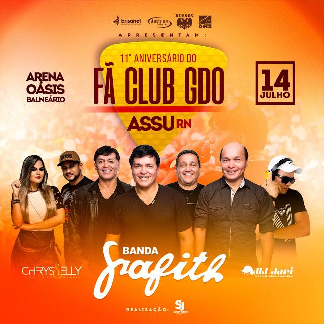11º ANIVERSÁRIO DO FÃ CLUB GDO - ASSÚ/RN