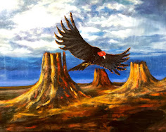 My Thunderbird painting ETSY