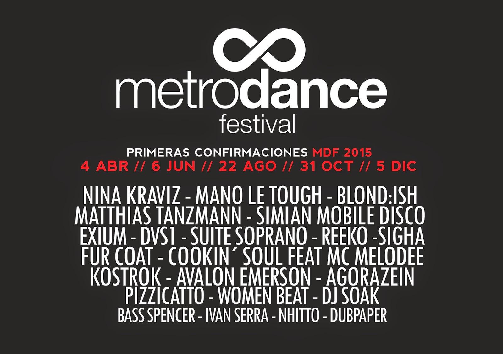 metro dance festival anuncia fechas