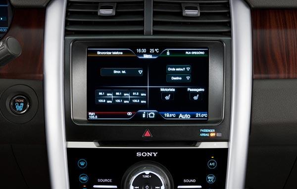 Ford Edge - Edge limited 2013 com SYNC com comando de voz em português, inglês ou espanhol