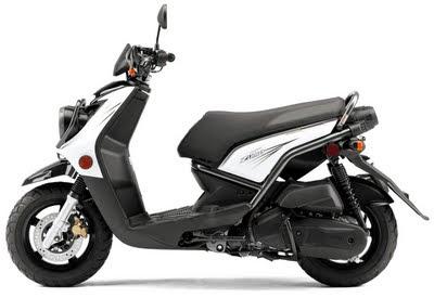New Automotive News and Images  New Yamaha BWs Zuma 125 Sporty