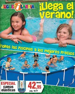 catalogo de piscinas juguetilandia verano 2013