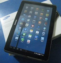 "jual samsung galaxy tab 2 - 10"" second"