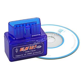 Bluetooth Mini ELM327 V1.5 OBDII OBD2 Auto Car Diagnostic Interface Scanner Tool