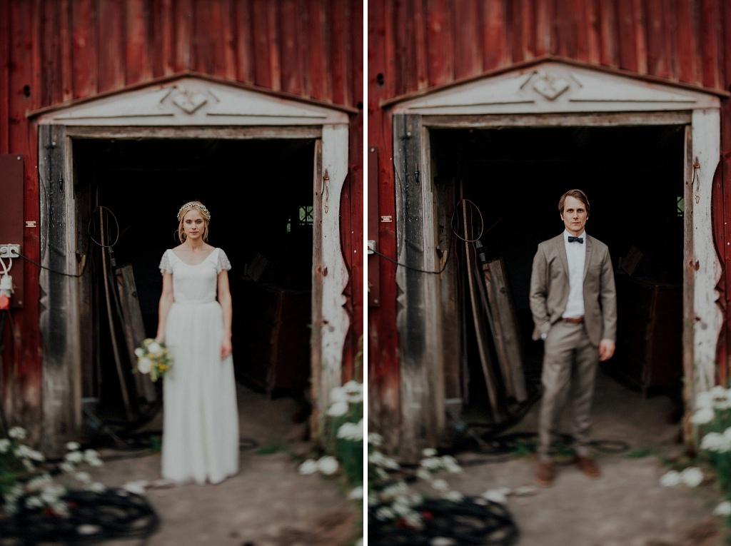 Bröllopsfoto vintage lada