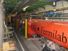 Fermilab accelerator. Wikipedia