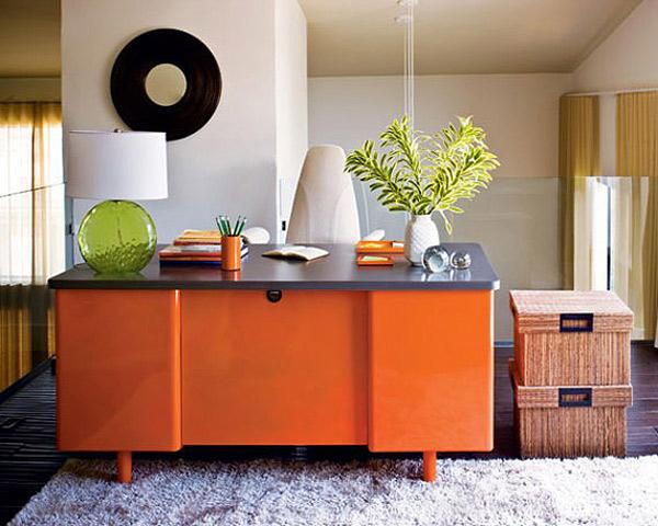 El color naranja en la decoraci n de oficinas for Oficina de orange