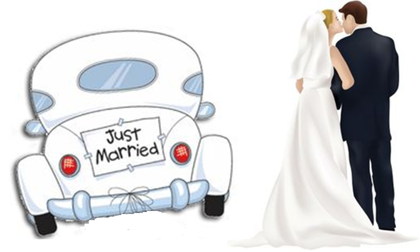 Bildresultat för wedding cars cartoon