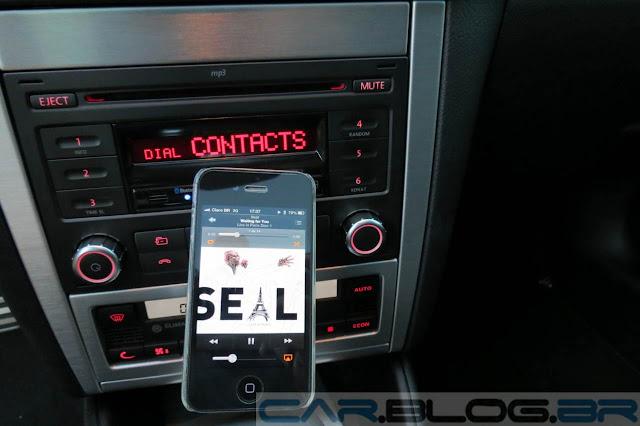 VW Golf Sportline 2014 Automático - Sistema de som com Bluetooth