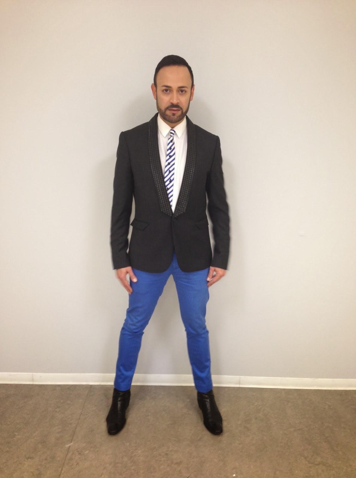 "Skinny blue pants from Topman--Nick Verreos Project Runway ""Under ..."