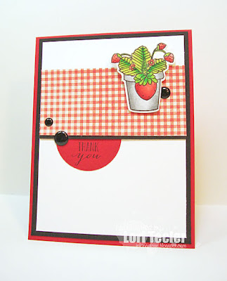 Summer Thank You card-designed by Lori Tecler/Inking Aloud-stamps and dies from Mama Elephant
