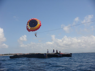 Parasailing Water Sports Bali Tours Packages