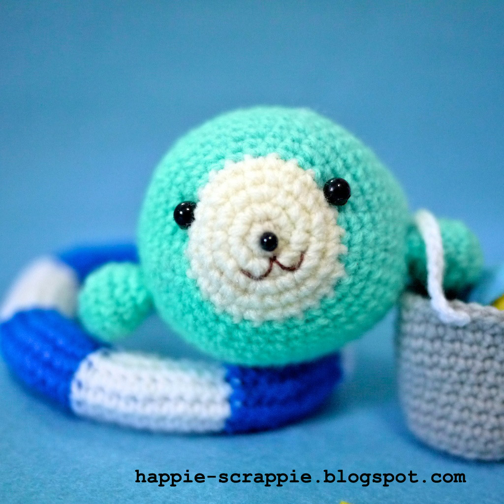 Stitch Amigurumi Crochet Pattern : Happiness is Scrappy: Amigurumi Pattern: Baby Seal Learns ...