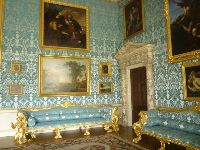 kedleston hall georgian interior neo-classical via lovebirds vintage