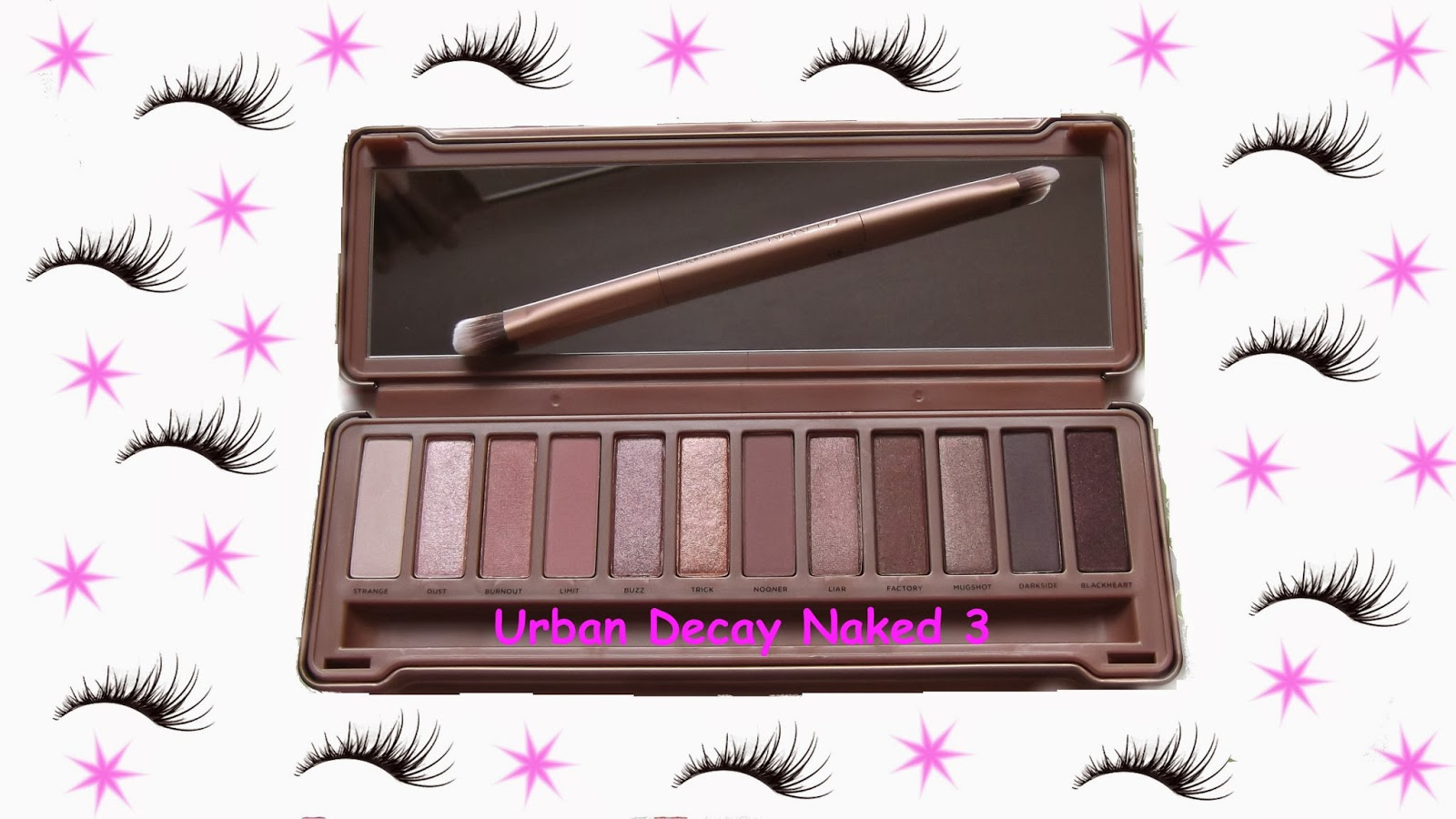 Urban Decay Naked 3 Palette reviews in Eye Shadow