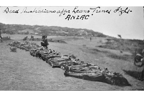 Bodies Of 11th Battalion Members Including AB Faceys Brother They Are Laid Out On Shell Green Just As Told By Facey In His Book A Fortunate Life